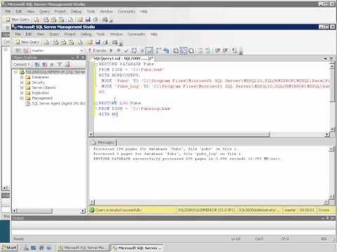 How Do I: Set up Database Mirroring?