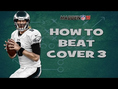 Madden 15 Tips | How To Beat Cover 3 Zone [Eagles Playbook]
