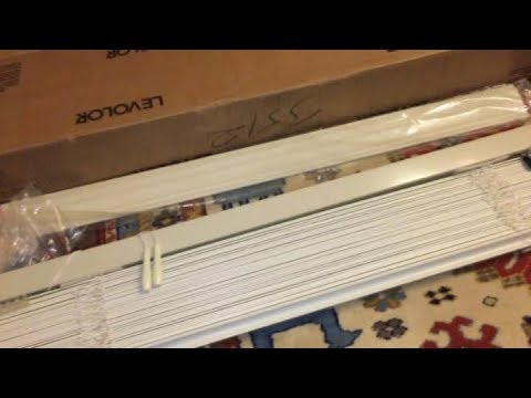 CUTTING LEVOLOR BLINDS TO SIZE- 2