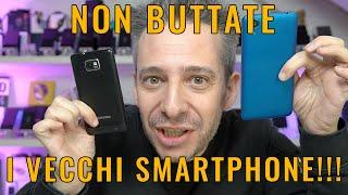 10 MODI per RIUTILIZZARE UN VECCHIO SMARTPHONE!