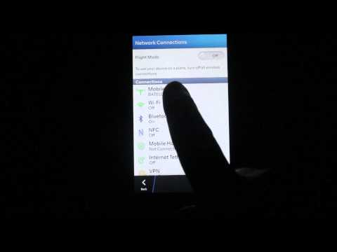 Blackberry 10 Internet (APN) Settings