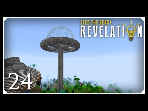 How To Play FTB Revelation | Building With RFTools! | E24 Modded Minecraft For Beginners