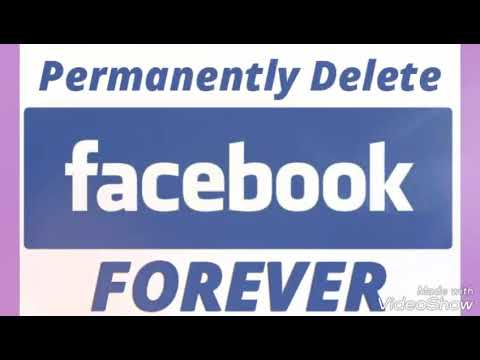 How to Permanently Delete Your Facebook Account Forever Trick 2018