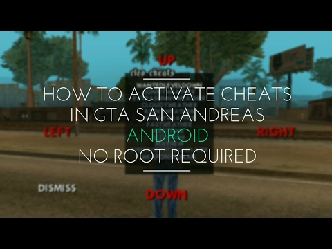 How To Activate Cheats In GTA SanAndreas Android Version  No Root Required 100% Guaranteed Working