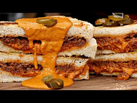 The Best Grilled Chili Cheese Sandwich Ever!!!