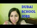 HOW TO APPLY ONLINE FOR TEACHING JOBS IN SCHOOL IN DUBAI UAE !!!
