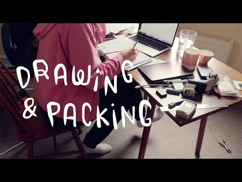 we started packing! ~ Frannerd