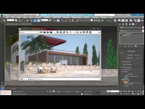 Thực hành 3ds Max - Bài 68 Hướng dẫn thiết đặt hoàn thiện vật liệu trong 3Dsmax.