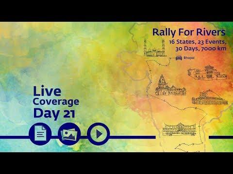 Rally for Rivers - Day 21 - Bhopal   Sadhguru