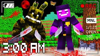 Minecraft - Do NOT Play FNAF at 3:00 AM with RageElixir!