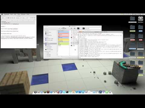 Minecraft how to make a Craft Bukkit Server [Mac 1.2.5]