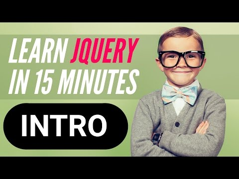 Learn jQuery in 15 minutes – Series Welcome