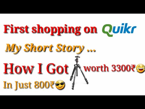 Shopping Experience On Quikr : It was a great deal😎