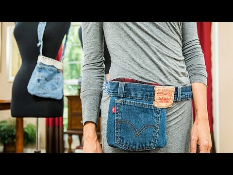 How To - Orly Shani's DIY Denim Fanny Pack - Home & Family