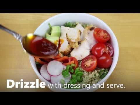 Chipotle Chicken Bowls with Cilantro-Lime Quinoa