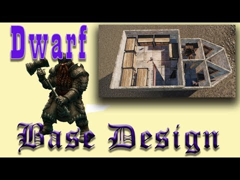 Dwarf Base I Solo Rust Base Design Tutorial I Rust 2018 Build 2.3