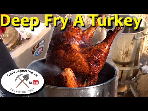 Deep Fry Turkey Dec 2015
