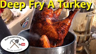 Deep Fry Turkey Dec 2015