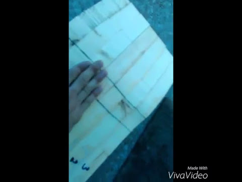 How to make a wooden skateboard mold part 1