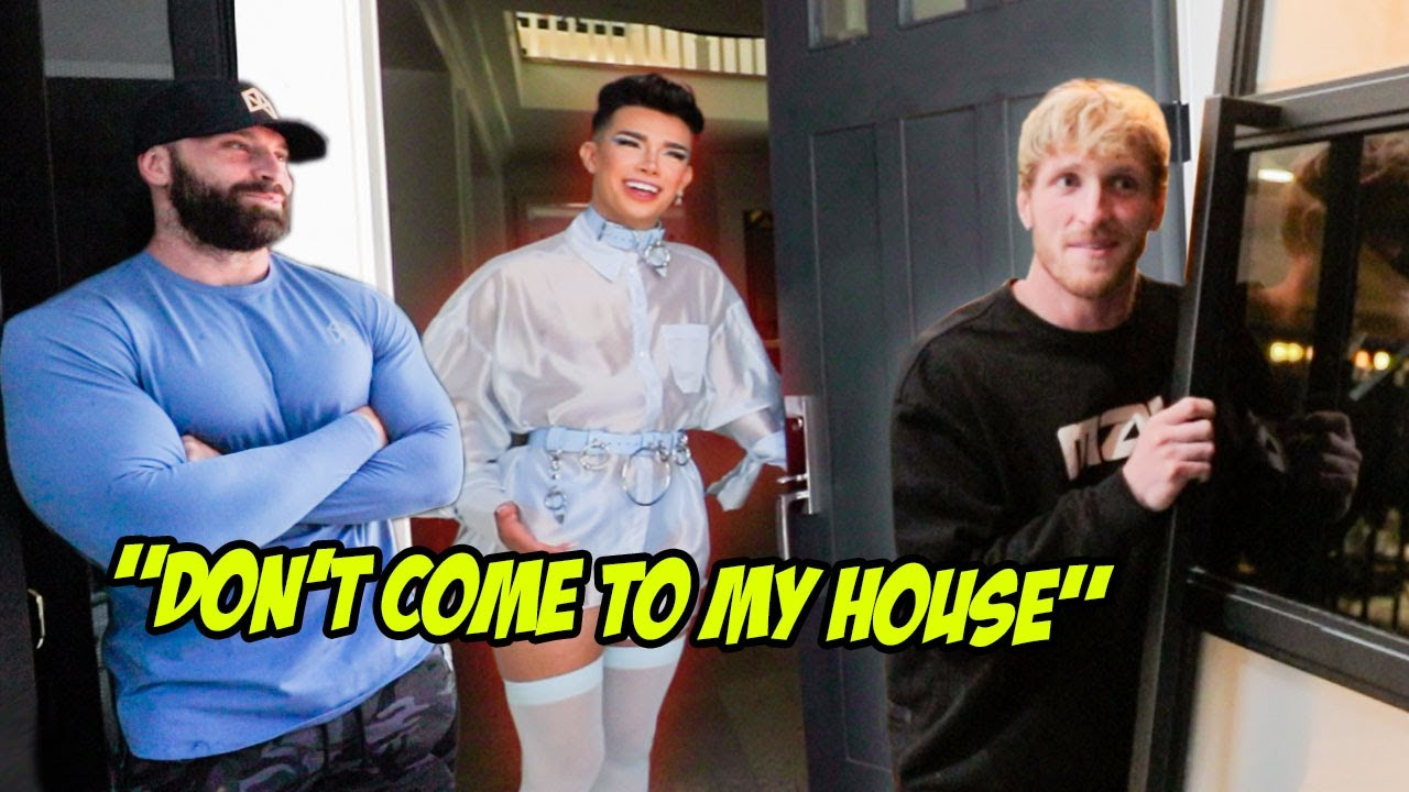 I Showed Up at YouTubers Houses, And Asked for THIS