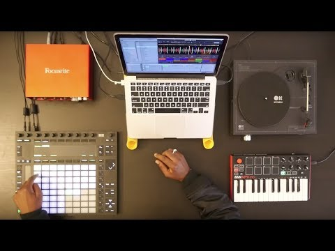 How to use Ableton Push with Serato Sample