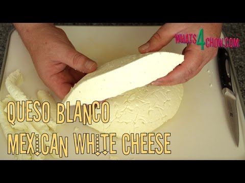 Queso Blanco - How to Make Mexican White Cheese. Fresh Mexican Same-Day Cheese.
