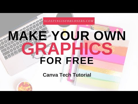 MAKE YOUR OWN GRAPHICS FOR FREE | Tutorial