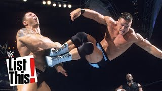 6 surprising John Cena moves: WWE List This!