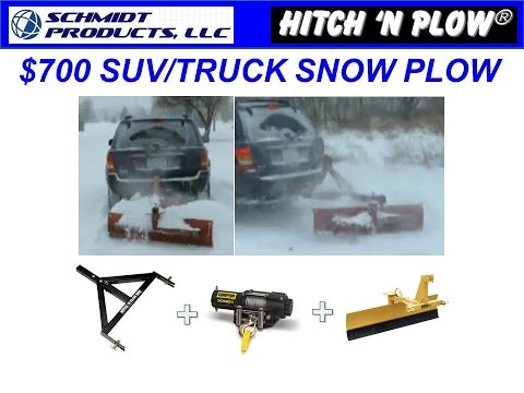 Hitch 'N Plow™- $700 Snow Plow for Trucks/SUV's