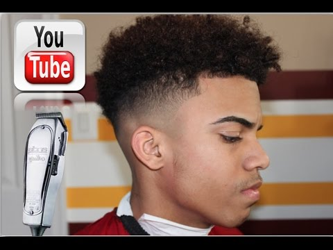 Curly High Top Fade  (TUTORIAL)