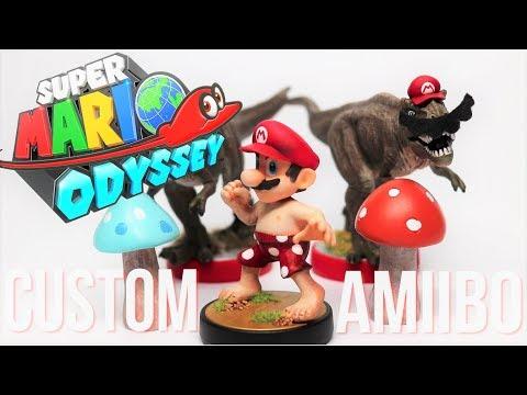 DIY Custom Amiibo Super Mario Odyssey Beach Mario