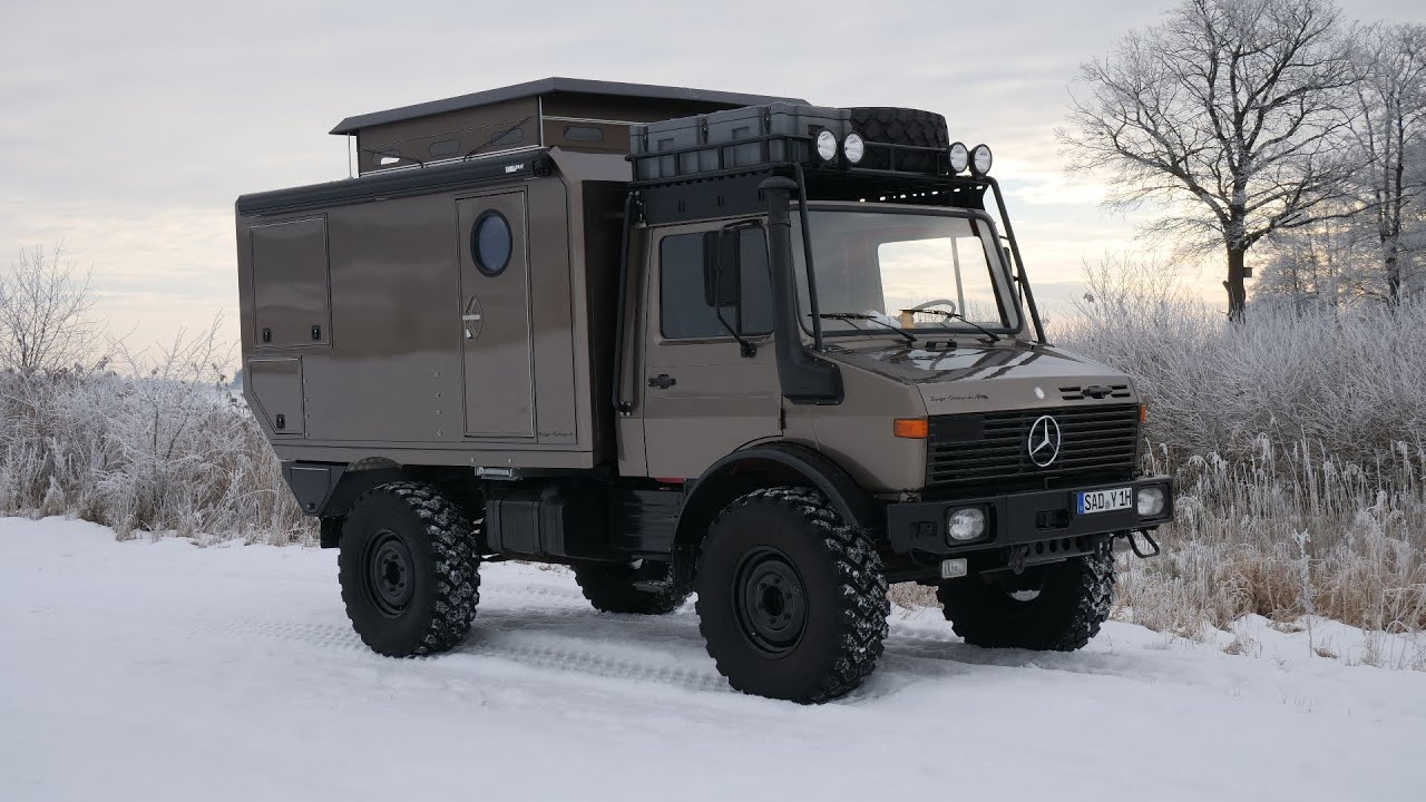 Unimog 1300 L the way to the expedition vehicle