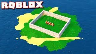 Roblox Adventures - ESCAPE ALCATRAZ PRISON IN ROBLOX! (High Security Prison Island)