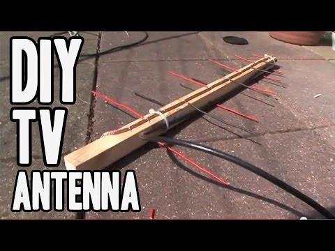 DIY TV antenna **NEW LOG PERIODIC DESIGN**
