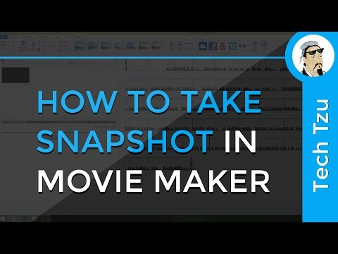 How to Take Snapshot in Movie Maker