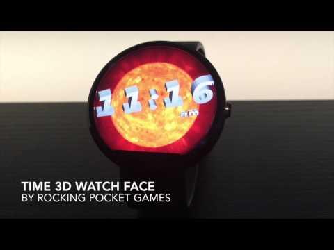 Time 3D Watch Face
