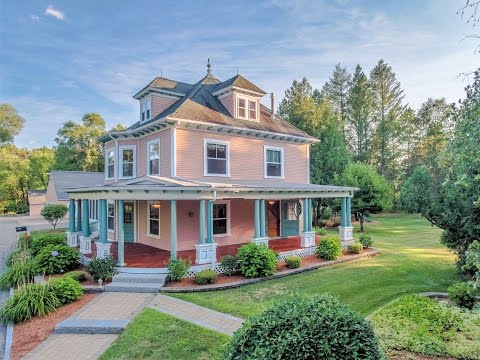 Restored Historic Disctrict Victorian | 60 North Amherst Road, Bedford, NH | Real Estate