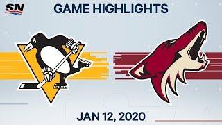 NHL Highlights   Penguins vs. Coyotes – Jan. 12, 2020