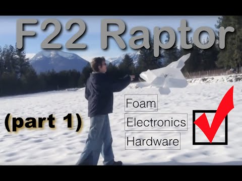 How to build an rc plane (part 1)