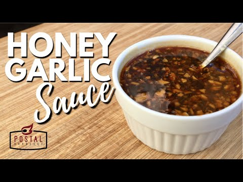 Honey Garlic Sauce Recipe - How to Make Honey Garlic Sauce Easy