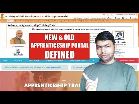 Defined - New & Old Apprenticeship Training Portal