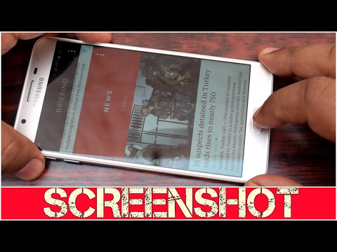 How To Take Screenshot On Samsung Galaxy On Nxt | J7 Prime