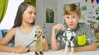 Star Wars - Rey and First Order Stormtrooper - LEGO Build Zone - Season 3 Episode 6