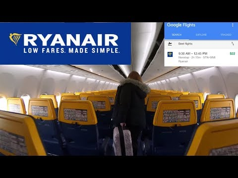 Flying on Ryanair. A $22 flight? TRIP REPORT. London to Warsaw