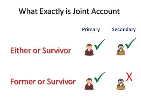 Joint Accounts and their Role in Estate Planning - Part 3/6