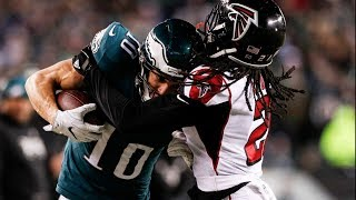 Falcons vs. Eagles 2018 NFC Divisional Game Highlights | NFL