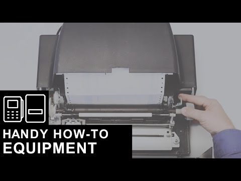 Loading Money Orders into a Legacy Printer