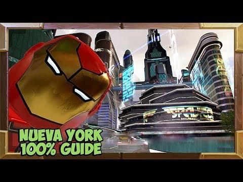 LEGO Marvel Super Heroes 2 Nueva York 100% Guide