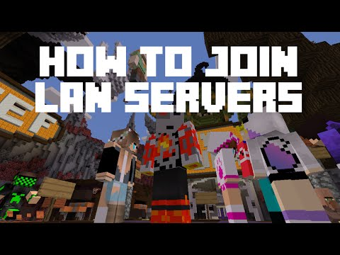How to Connect to a LAN Server MCPE