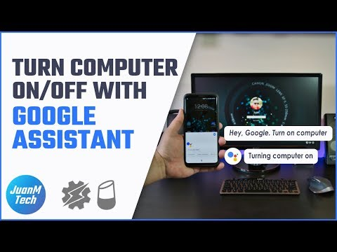 Turn a computer on and off using Android and Google Home